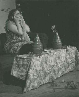 """Production Photograph: """"The Value of Money"""" (1965)"""