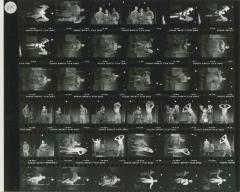 """Contact Sheets: """"Why Hanna's Skirt Won't Stay Down"""" (1981) (1)"""