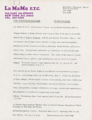Press Release: The Club (May 1983)