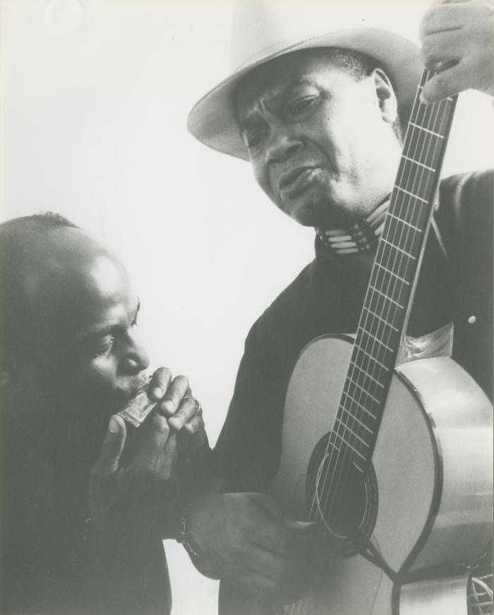 Promotional Photograph: The Blues Duo