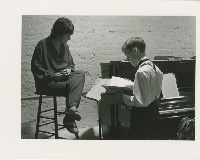 """Production Photographs: """"Love Songs And..."""" (1983)"""